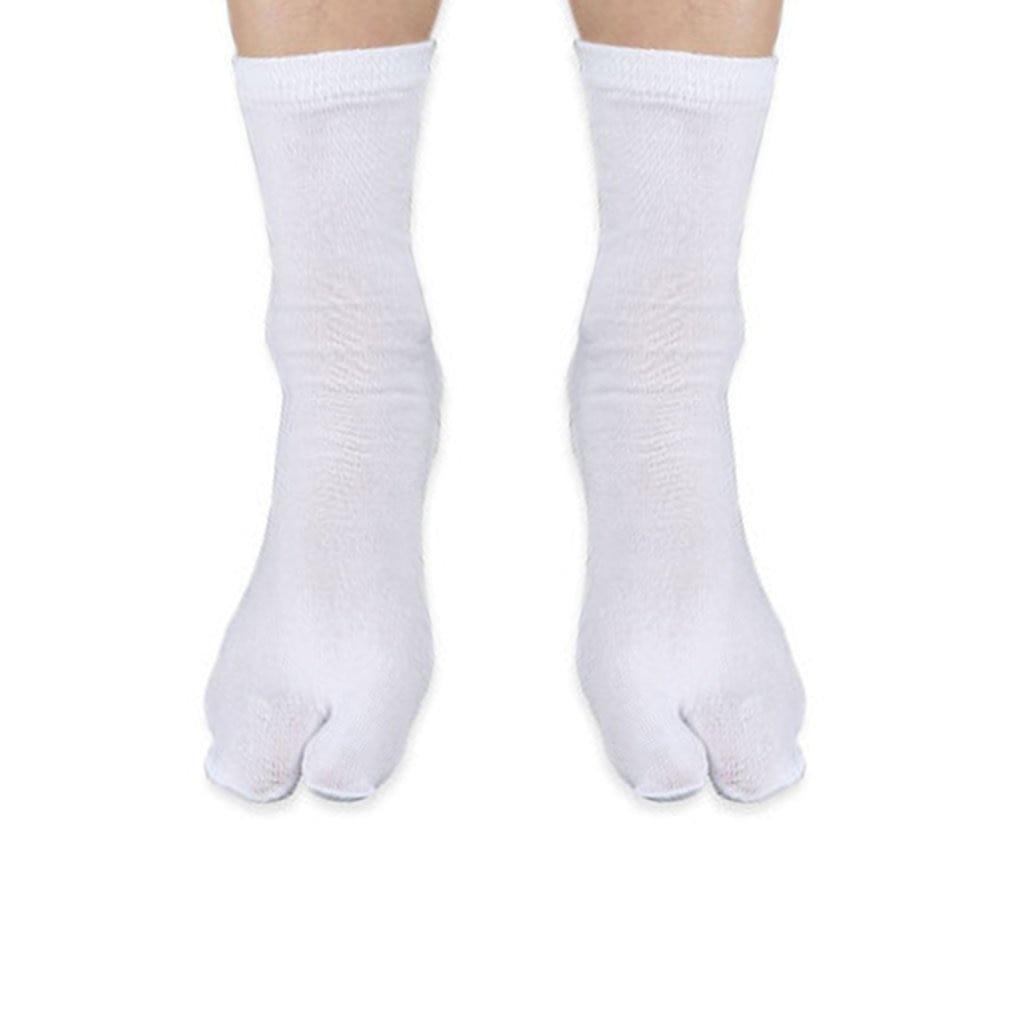 1pair Men Women Tabi Socks Split Two Toes Socks Sandal Seprate Toe Geta Socks New Selling