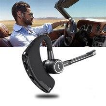 V8S Draadloze Bluetooth Hoofdtelefoon Outdoor Draagbare Mini Headsets Stereo Business Kantoor Single Ear Oortelefoon Universele