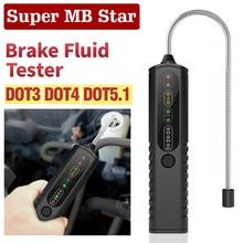 Auto Diagnostische Remvloeistof Tester Voor DOT5.1/DOT3/DOT4 BF100 BF200 Nauwkeurige Olie Kwaliteit Detector Automotive Remvloeistof test Pen