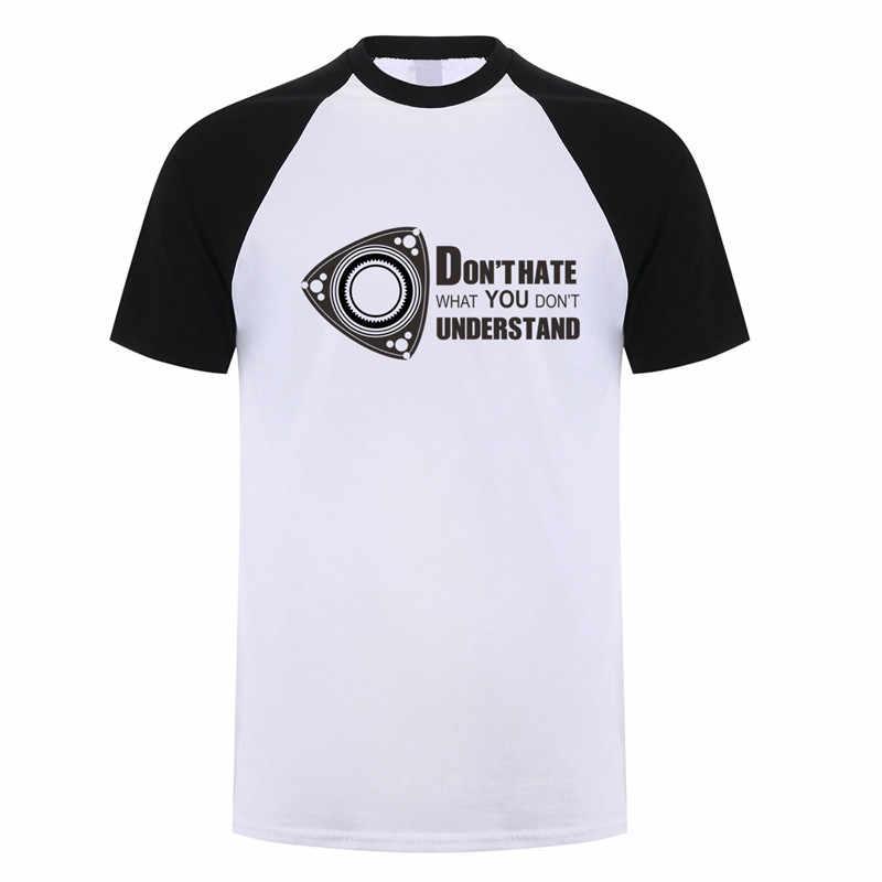 を男性ロータリー電源マツダローター Tシャツ RB13 FD Rx7 Rx8 Tシャツ半袖コットン · マン Tシャツ