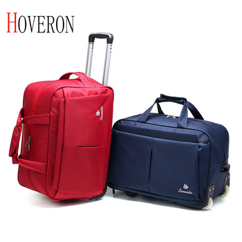 цена на Large Luggage Trolley Bag Large Capacity Travel Bag with Wheels for Women Men Travel Suitcase Duffle Travel Bags Luggage Bearing