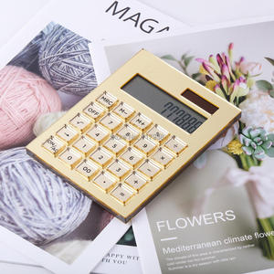 Image 4 - Acrylic Gold Stationery Series  ) Scissors 1) Acrylic  Solar Energy Calculator