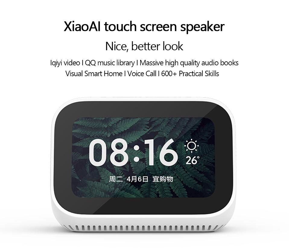 Xiaomi Ai Touch Screen Speaker with Alarm Clock 3