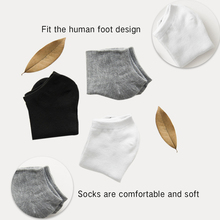 5 Pairs Men Cotton Ankle Socks For Business Casual mens socks Solid Color Short Male color Slippers men