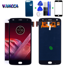 For Motorola Moto Z2 Play XT1710 01/07/08/10 5.5 inch AMOLED LCD Display Touch Screen Digitizer 1920*1080 assembly with Free