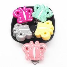 Chenkai Pinzas de silicona para chupete de bebé, 10 Uds., accesorios para dentición