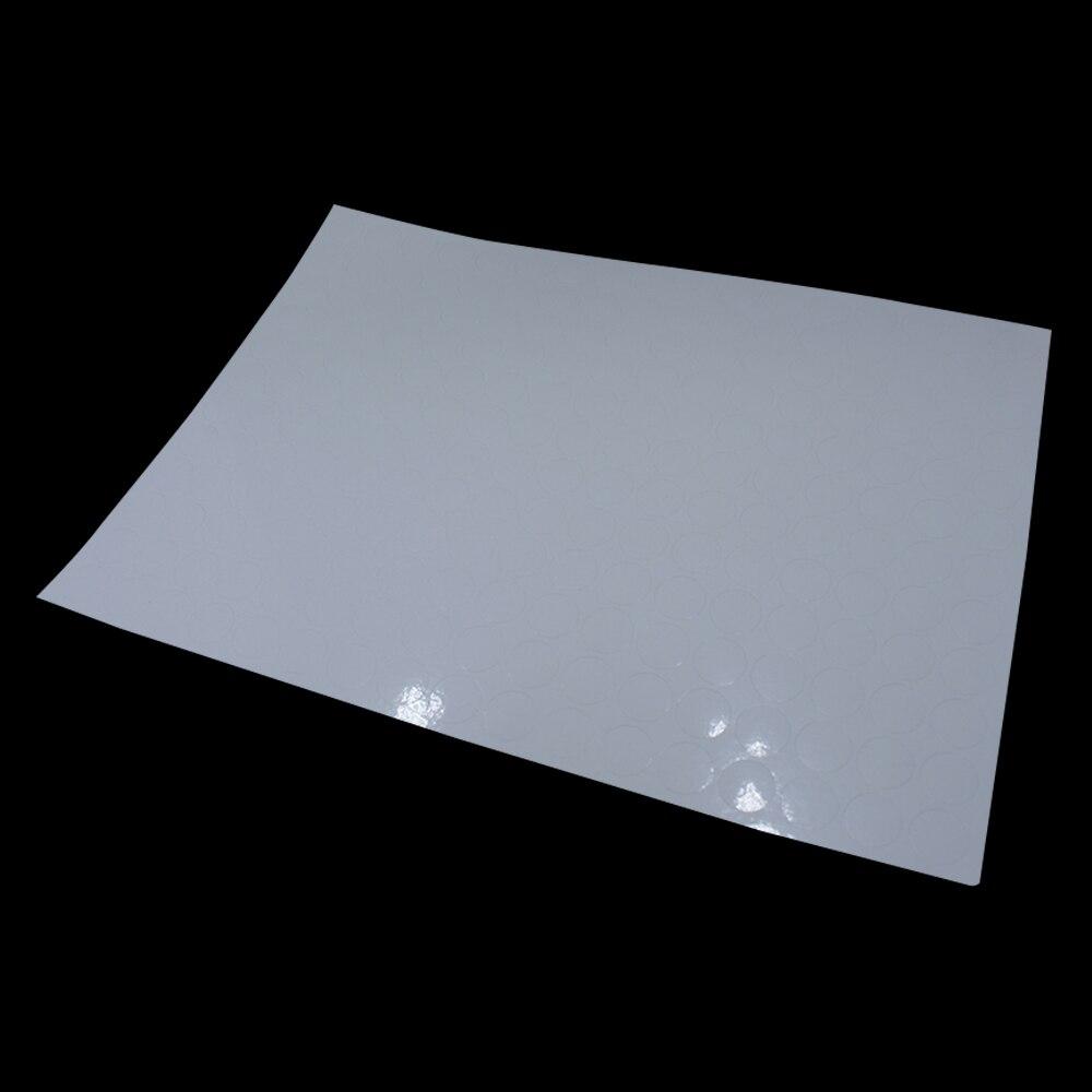 DHL 51000 pièces/lot auto adhésif étiquette impression papier 204 pièces/feuille brillant blanc diamètre 1.5cm rond étiquette A4 Kraft papier - 2