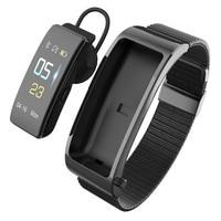 Bluetooth Earphone Fitness Bracelet 2 In 1 Sport Track Smart Wristband Smart Voice Blood Pressure Heart Rate Monitoring Smart