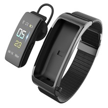 Bluetooth Earphone Fitness Bracelet 2 In 1 Sport Track Smart