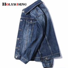 denim jacket men 2020 Autumn New Mens Jean Jacket Cotton Denim Coats Men Outwear S-3XL