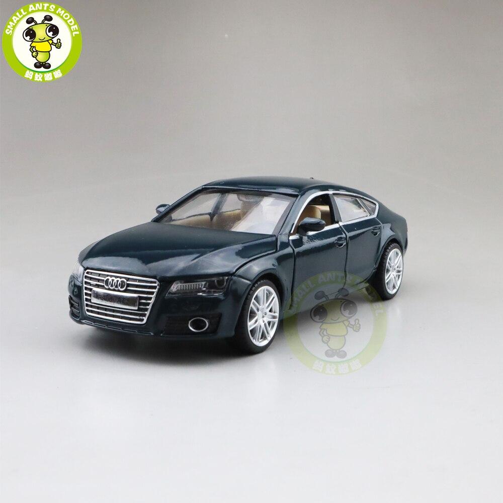 1/32 Audi A7 Diecast Car Model Toys for kids children Sound Lighting Pull Back gifts