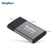 KingDian SSD externe 1 to 500gb 250gb 120gb disque dur externe SSD disque HD externe USB 3.0 Type C P10 pour ordinateur portable