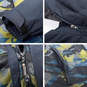 Image 5 - แจ็คเก็ตผู้ชายฤดูหนาวกันน้ำ Streetwear ทหารหลวมเสื้อคลุมเสื้อ 2019 ขนาดใหญ่ยี่ห้อขนแกะให้อบอุ่นความร้อนคลุมด้วยผ้า Windproof ที่มีคุณภาพสูงรัสเซียหิมะเสื้อกันลมสีฟ้าเสื้อกันลม Parkas ท่อ