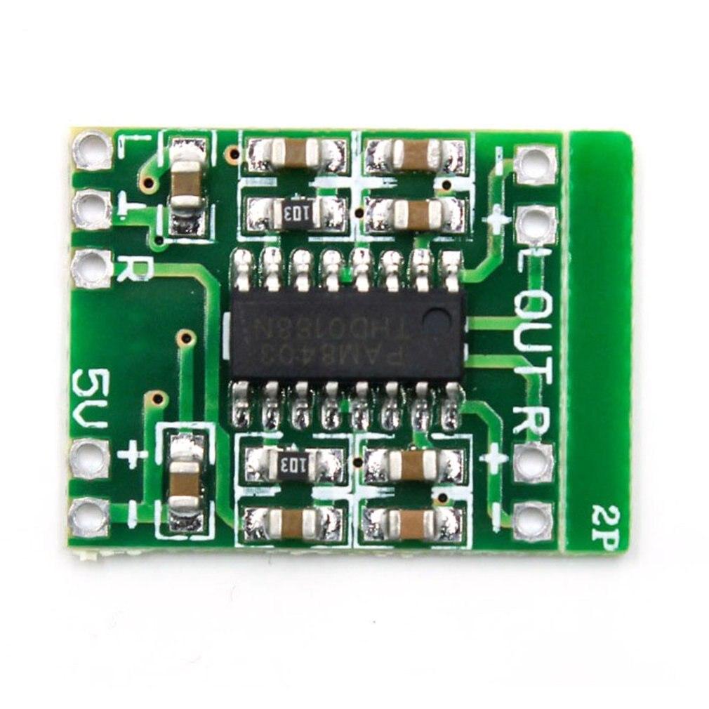 Pam8403 Power Amplifier Board Class D 2X3W Ultra-Miniature Digital Power Amplifier Board