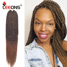 Leeons Senegalese Twist Braiding Hair Extensions Smooth And Supple Kanekalon Cro