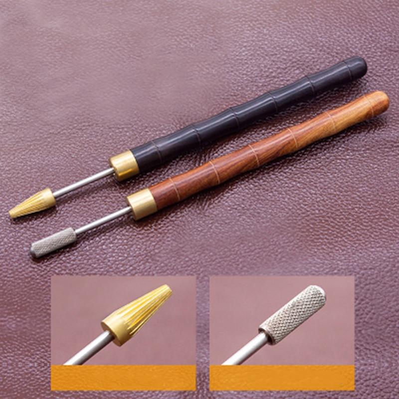 Leder Craft Edge Dye Ölstift Applikator Farbroller Werkzeug