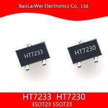 5 шт. +HT7230 HT7233 +3SOT23 SOT23-5 электронные компоненты интегральные схемы sot23 напряжение регулятор