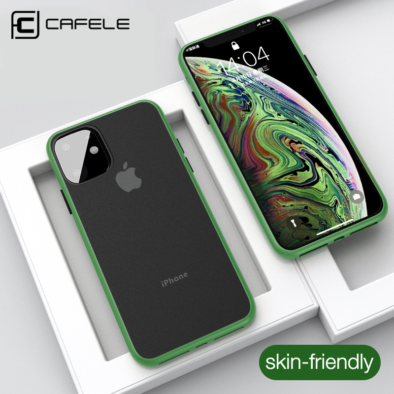 CAFELE Waterproof Phone Case For Iphone 11 Pro Max Cell Phone Cases  Silicone Cover For Iphone 11pro Max Case