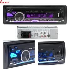 Автомагнитола LaBo, 12 В, Bluetooth, стерео, FM, MP3, 5 В, зарядное устройство, USB, SD, MMC, AUX, автомобильная электроника, автомагнитола 1 DIN без CD
