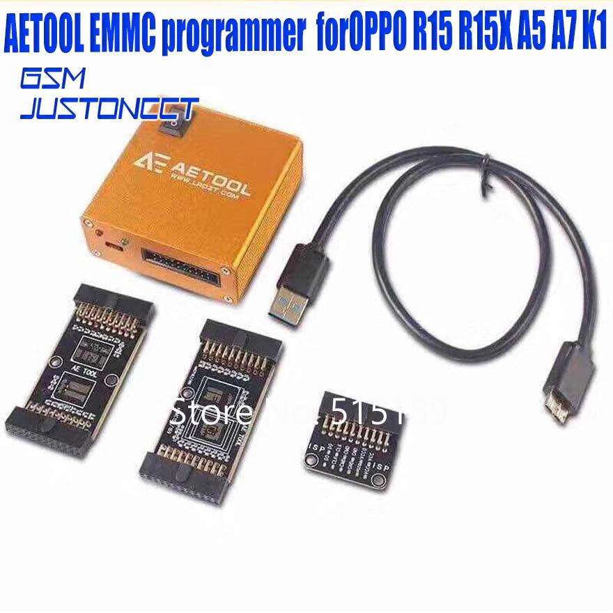 ORIGINAL Toolbox AE AETOOL Box /AETOOL EMMC Programmerwith Source Welding Plate + Cable