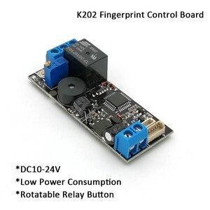 Image 2 - K202 + R502 DC12V carte de contrôle par empreinte digitale