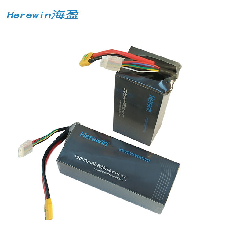 Herewin <font><b>12000mah</b></font> Battery 22.2v 20C shaft battery Agricultural plant protection UAV battery image