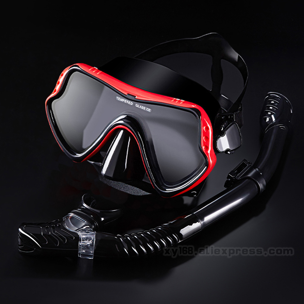 Scuba Diving Masks Snorkeling Set Adult Goggles Swimming