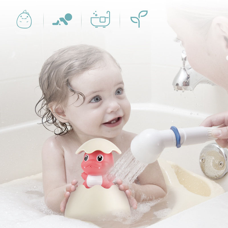 Baby Shower Bath Toys Duckling That Sprinkle Water Baby Kids Toy Penguin Dinosaur Baby Water Toy