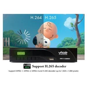 Image 4 - Vmade הדיגיטלי HD טלוויזיה מקלט DVB T2 טלוויזיה דיגיטלית טיונר מפענח H.265 DVB T/T2 תמיכה YouTube WIFI קולט DVB T2 סט top box