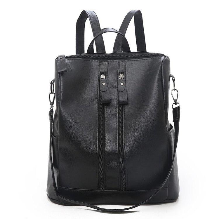 Горячее предложение! Распродажа! Модный рюкзак 2019, многофункциональный рюкзак из мягкой искусственной кожи, Повседневная сумка, Ретро