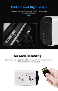 Image 5 - CTVISON אלחוטי סוללה מצלמה סוללה מופעל wifi מצלמה עם sd כרטיס חיצוני ip wifi 1080p pir אבטחת מעקב
