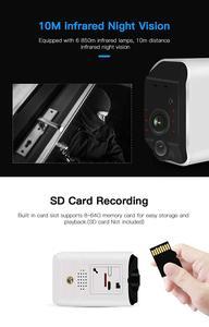 Image 5 - Ctvisonワイヤレスバッテリーカメラバッテリ駆動wifiカメラsdカード屋外ipの無線lan 1080 720p pirセキュリティ監視