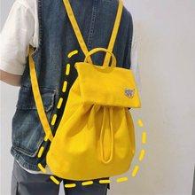 Solid Nylon Backpack for Women Multi Pocket Travel Backpacks Korean Style Female Chic School Bag Teenage Girls Book Mochilas