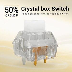 Image 2 - Kailh คริสตัลกล่องสวิทช์คีย์บอร์ด DIY RGB/SMD สวิทช์ป้องกันฝุ่นกันน้ำใช้งานร่วมกับ Cherry MX