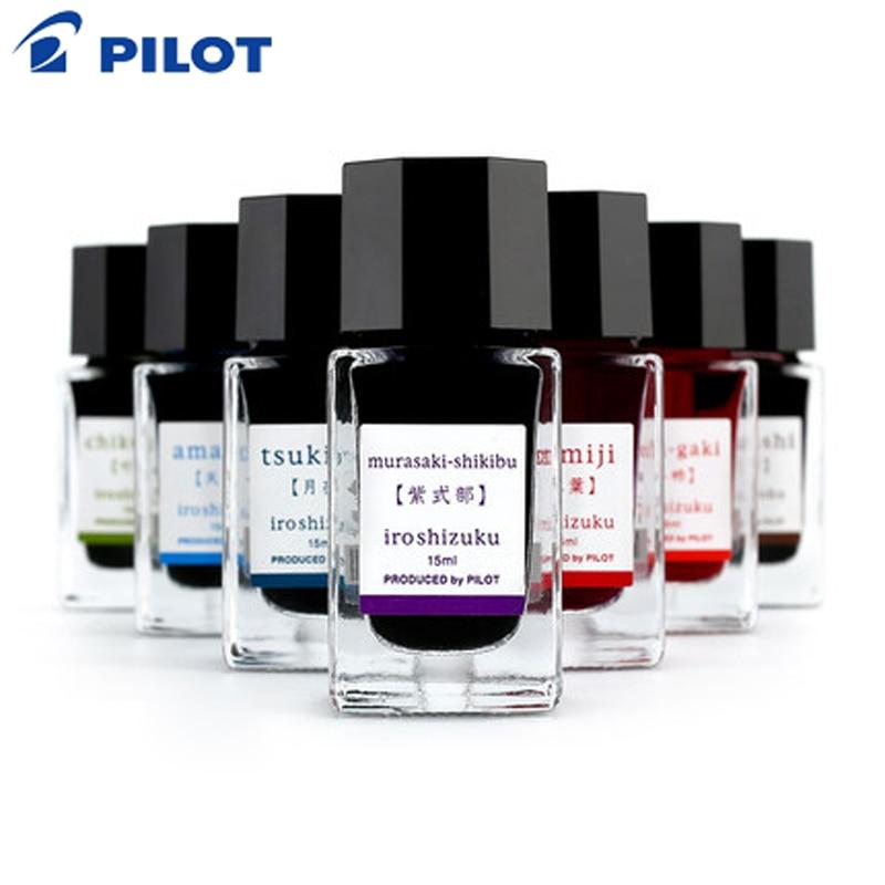 Пилотные цветные чернила в Японии подходят для естественного градиента ручки 15 мл неуглеродные черные чернила-15