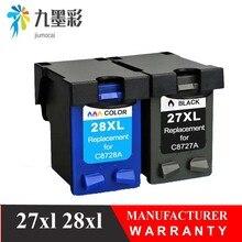 27XL 28XL картридж для hp 27 28 чернильный картридж для hp 27 hp 28 для hp Deskjet 3320 3325 3420 3535 3550 3650 3744 принтер