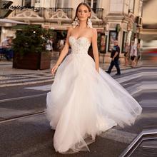 Волшебная ость Очаровательная богемное свадебное платье бальные