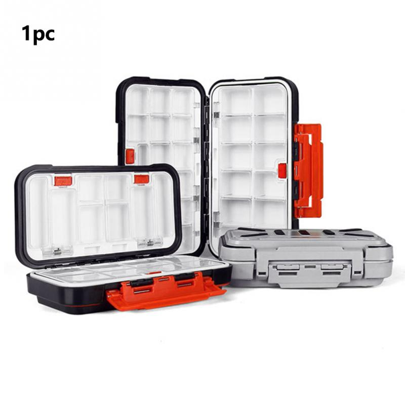 Container Lures Fishing-Box Multifunctional-Accessories Outdoor-Compartment Waterproof title=