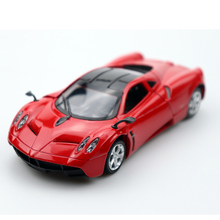 1:32 Diecast Alloy Toy Car Pagani Zonda R High Simulation Alloy Diecast Car Model Pull Back Collection high simulation 1957 chevrolet bel air car model 1 32 alloy pull back retro cars diecast metal toy model free shipping