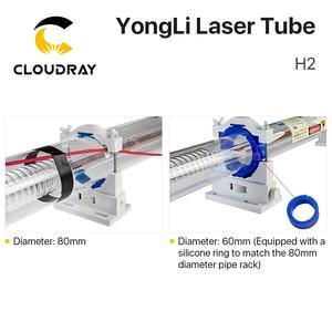 Image 3 - Cloudray Yongli H2 80 90 واط CO2 ليزر أنبوب طول 1250 ضياء. 60 مللي متر صندوق صندوق خشبي التعبئة لآلة القطع النقش بالليزر CO2