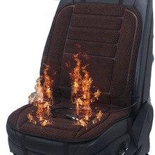 Heated-Cushion Vw Car-Seat-Covers Electric GOLF Winter 1 for Ru5x25 12v Artificial-Fur