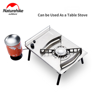 Image 5 - Naturehike 2019 New Outdoor Desktop Stove Cassette Furnace Portable Stove Wild Barbecue Oven Card Magnetic Furnace BBQ Gas Stove