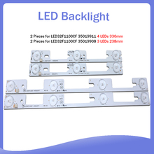 40 piece/lot FOR Konka led32f1100cf LED32F1160CF LCD TV backlight bar 35018476 35018478 Backlight Optical lens