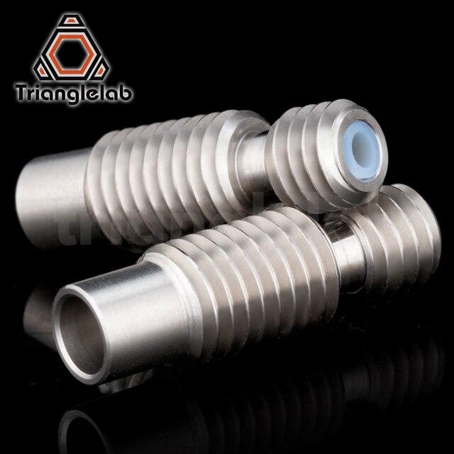 1PC high quality heat break for E3D V6 HOTEND Vocano heater block 1.75MM Filament Remote Feeding Tube 3D printer accessories 5