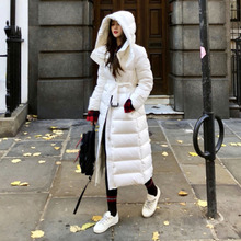 90% White Duck Down Jacket 2019 Women Winter Jacket Thick Long Coat for Women Hooded Down Parka Waterproof Women's Coat Clothes цены онлайн