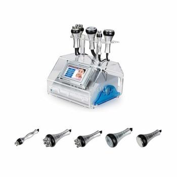 5 IN 1 Ultrasound Cavitation Machine Cavitation Lipolaser RF Vaccum Slimming Body Sculpture Contouring Cool Face Lifting