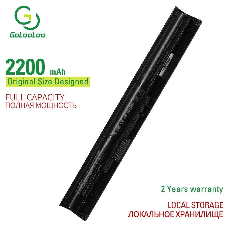 Golooloo 14.8V RI04 Battery for HP Probook 450 455 470 G3 G4 for ENVY 15 15-q001tx 805047-851 805294-001 HSTNN-DB7B 2200 mAh