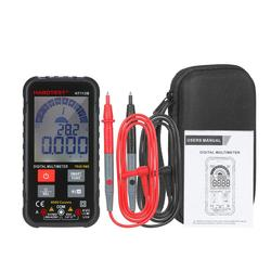 HT112B Digital Multimeter Intelligent 6000 Counts TRMS Multimeter Digital LCD Display AC/DC Voltmeter Ammeter Ohmmeter Test