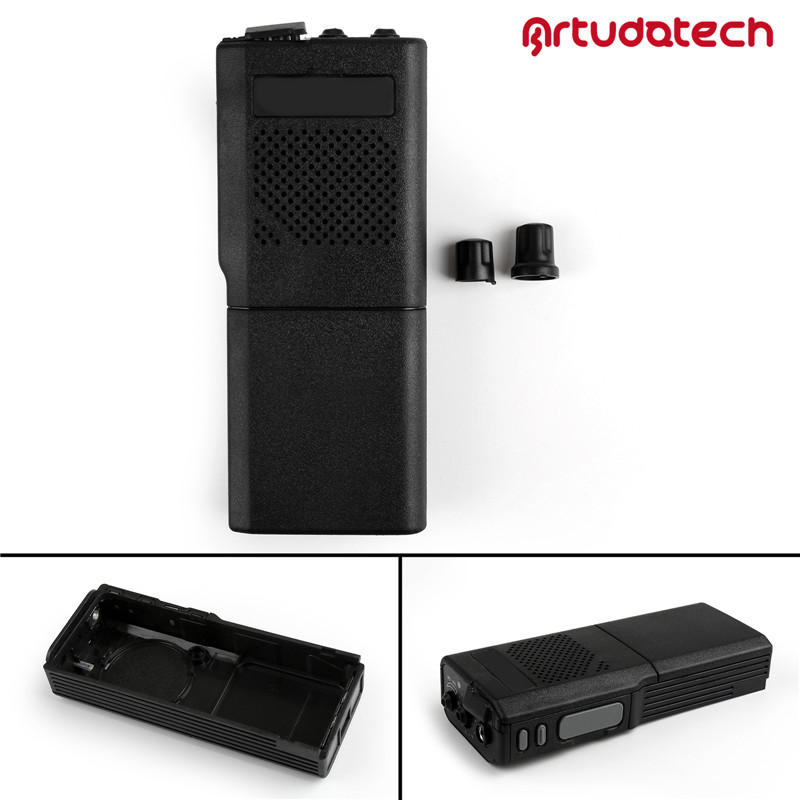 Artudatech Front Outer Case Housing Cover Shell For Motorola GP300 Wakie Talkie Radio GP 300 Accessories