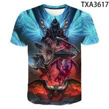 2020 New Cool 3D Print Monster Hunter T shirt Men Women Chil